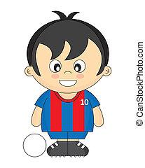 bambini, calcio