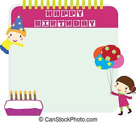 bambini, compleanno