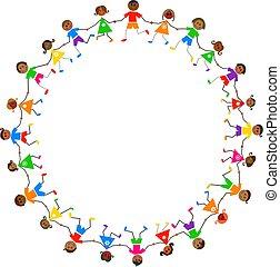 bambini, etnico
