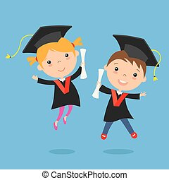 bambini, graduazione