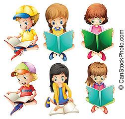 bambini, lettura