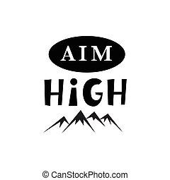 bambini, manifesto, scopo, inspirational, high., hipster