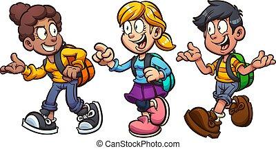 bambini, scuola