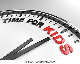 bambini, tempo