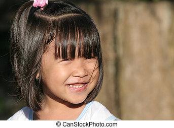 bambino asiatico