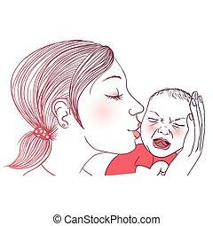 bambino piangendo