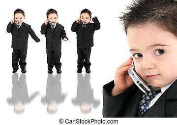 bambino ragazzo, cellphone
