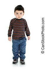 bambino ragazzo, standing