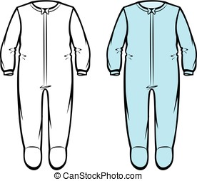 bambino, sleepwear