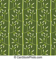 bamboe, behang