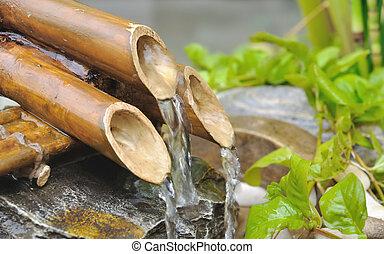 bamboe, fontijn