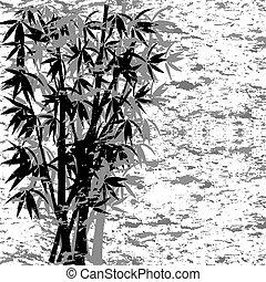 bamboe, grunge