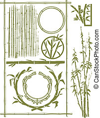bamboe, verzameling