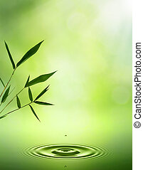 Bamboo. Abstract oriental backgrounds for your design