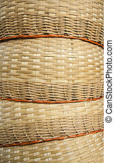 bamboo basket texture background