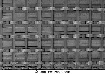 Bamboo Basketry Texture