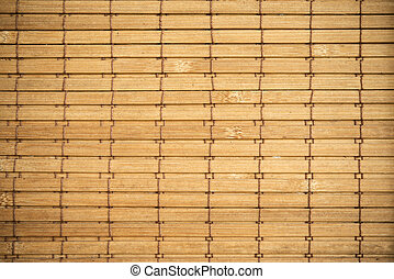 Bamboo curtain background