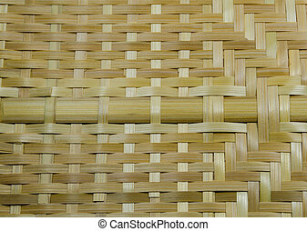 Bamboo fan