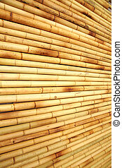 bamboo fence texture