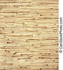 Bamboo mat - Texture - bamboo mat of brown color