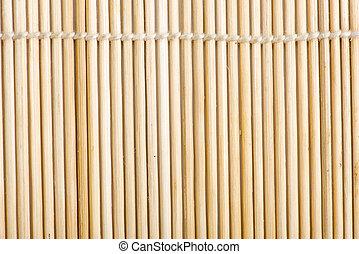 bamboo napkin roll