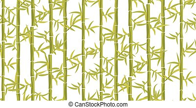 Bamboo seamless vertical pattern.