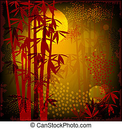 bamboo skov