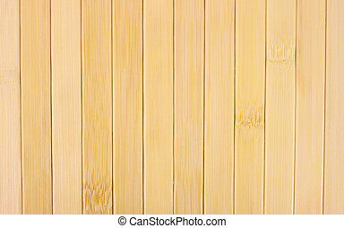 Bamboo slats - A series of bamboo slats for a background.