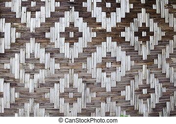 Bamboo straw texture