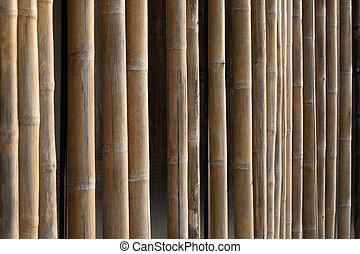 Bamboo structure