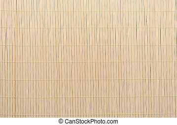 Bamboo tablecloth background texture