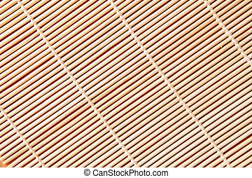 bamboo tablecloth - can be used as a texture background