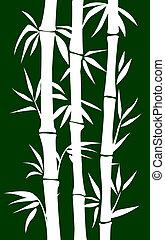 Bamboo tree - abstract bamboo tree. vector illustration