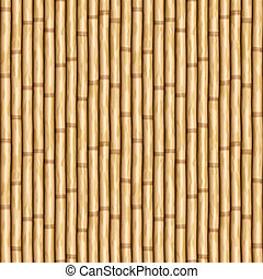 bamboo wall - large image of bamboo poles as wall or curtain