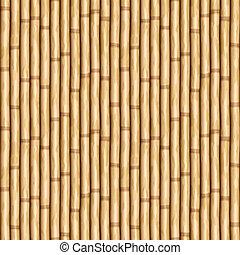 bamboo wall - large image of bamboo poles as wall or curtain