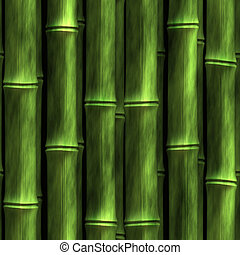 Seamless Bamboo Shoot Plant Wall Background Wallpaper