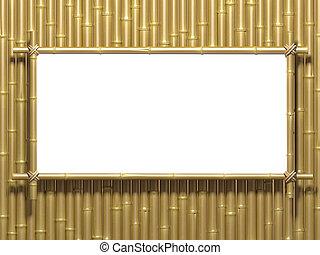 Bamboo wall