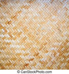 Bamboo weave texture background