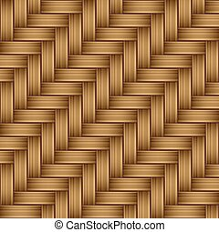 Bamboo Wood Texture Pattern Seamless , Vector Iluustration