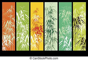bambou, résumé, fond