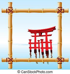 bambu, quadro