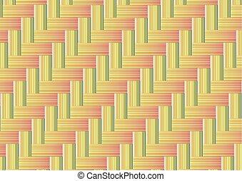 bambu, seamless, fundo, tecer