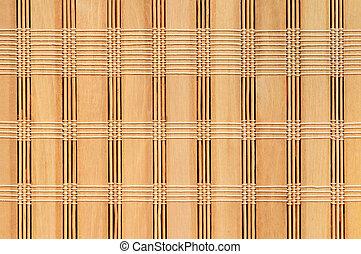 bambu, vävt, bakgrund