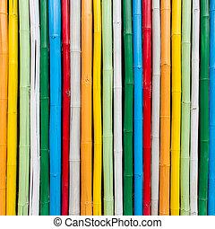 bambus, barvitý, grafické pozadí