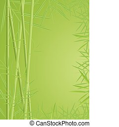 bambus, grafické pozadí