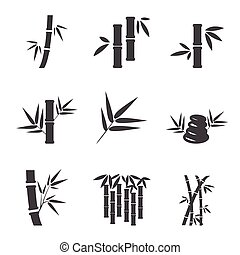 bambus, ikona