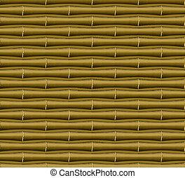 bambus, seamless, tkanivo