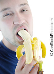 banán, ember