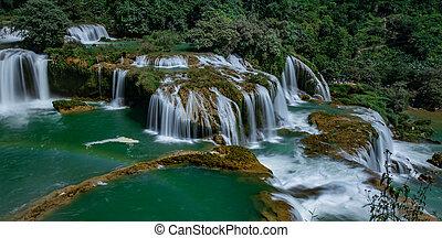 Ban Gioc/Detian waterfall - BanGioc is the most beautiful...