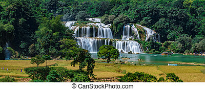 Ban Gioc/Detian waterfall - BanGioc is the most beautiful...
